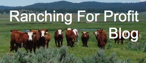 Ranching for profit blog