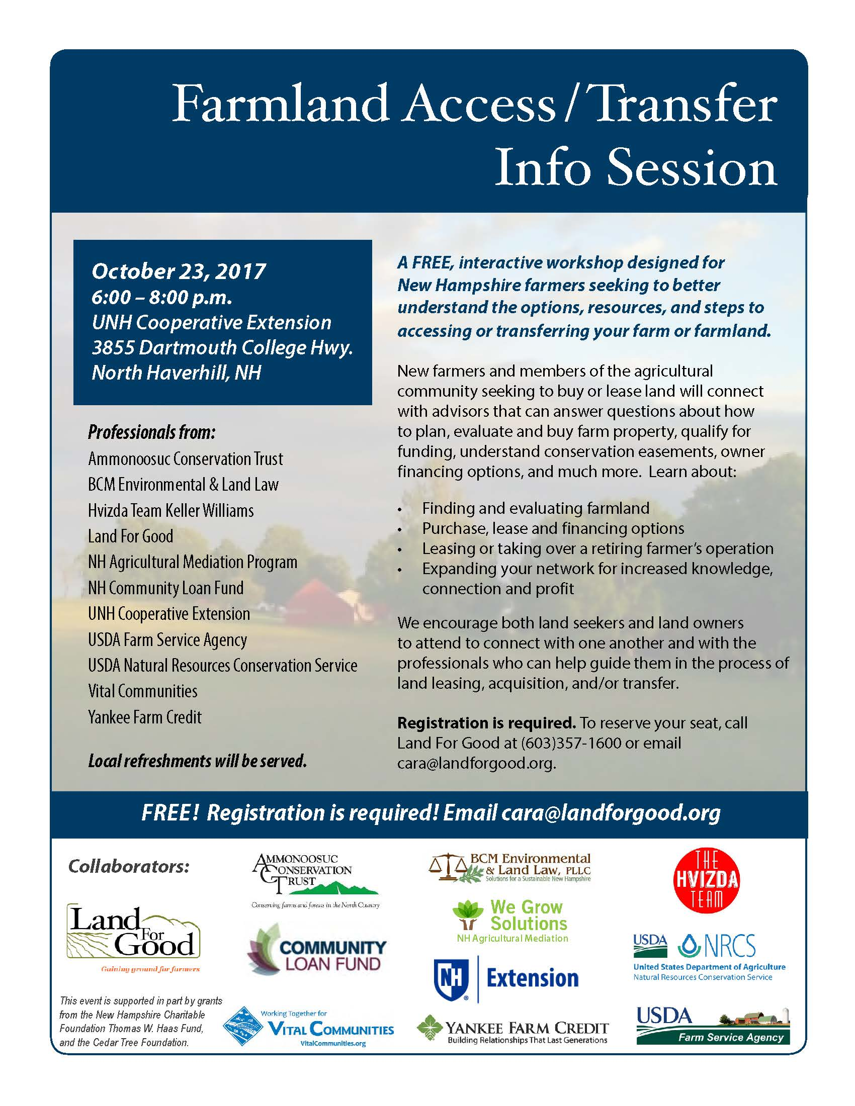 Farmland Access Transfer Workshop -Haverhill NH 10-23-2017 (1).jpg