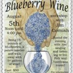 blueberry wine