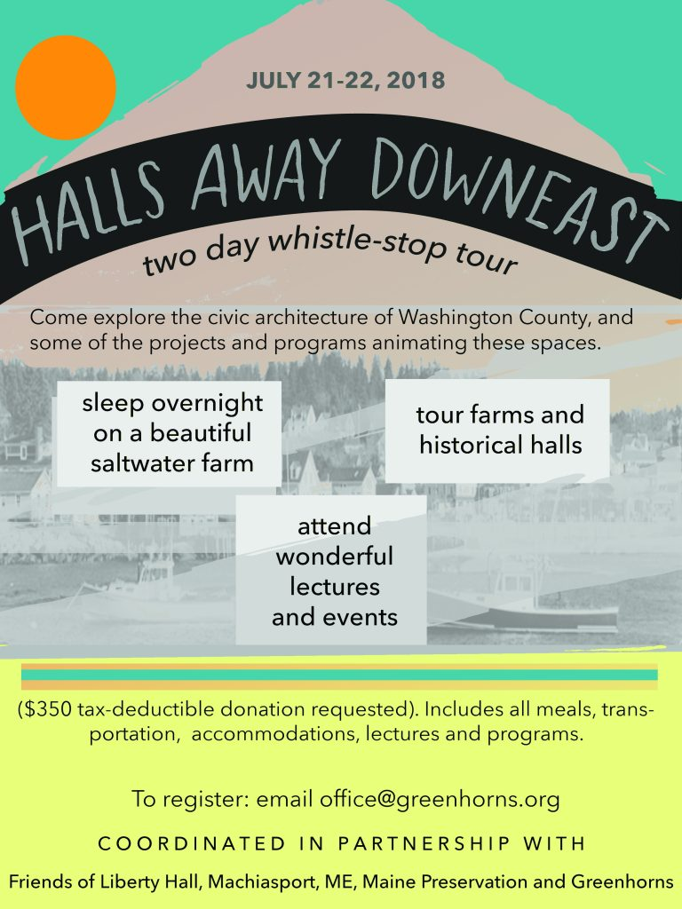 Halls away Downeast flyer