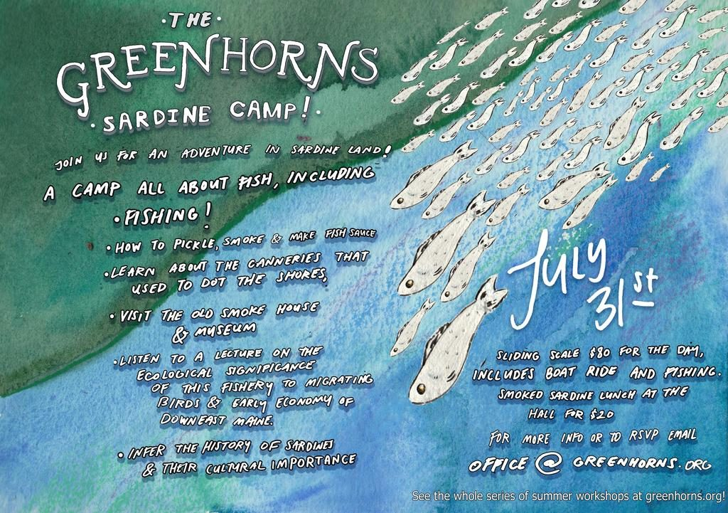 Greenhorns Sardine Camp Flyer