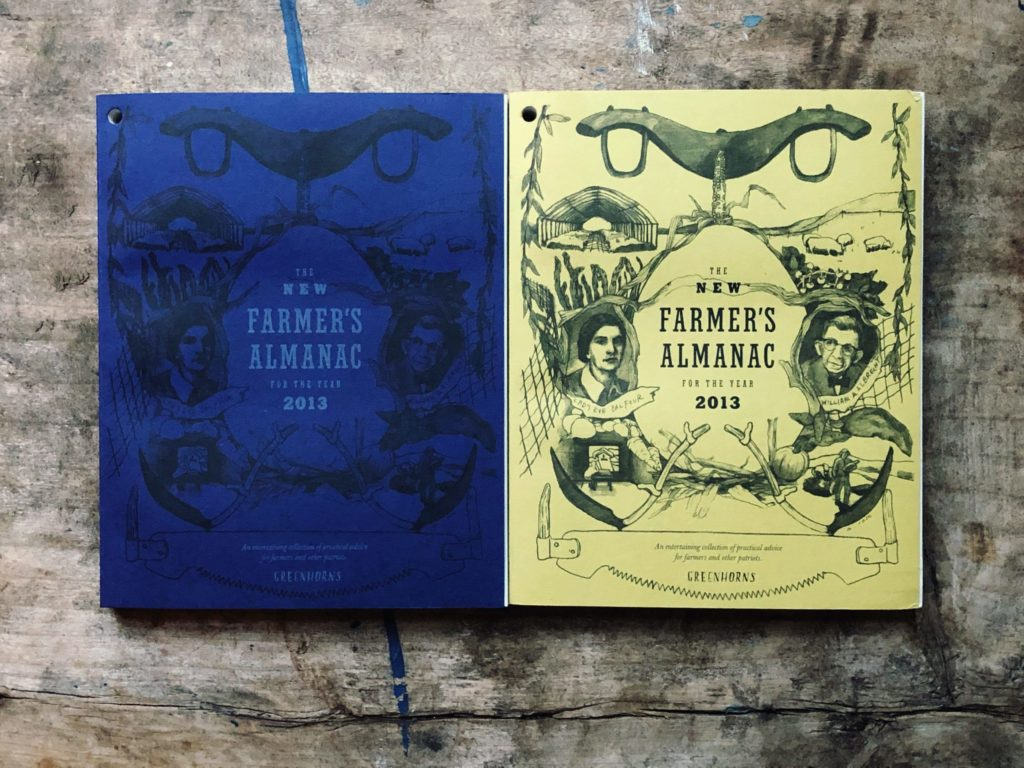 New Farmers Almanac - Volume I (Surprise color)